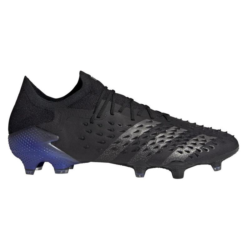 Buty piłkarskie adidas Predator Freak.1 Low Fg M FY6265 czarne czarne