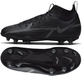 Buty piłkarskie Nike Phantom GT2 Club Dynamic Fit FG/MG Jr DC0822 004 czarne czarne