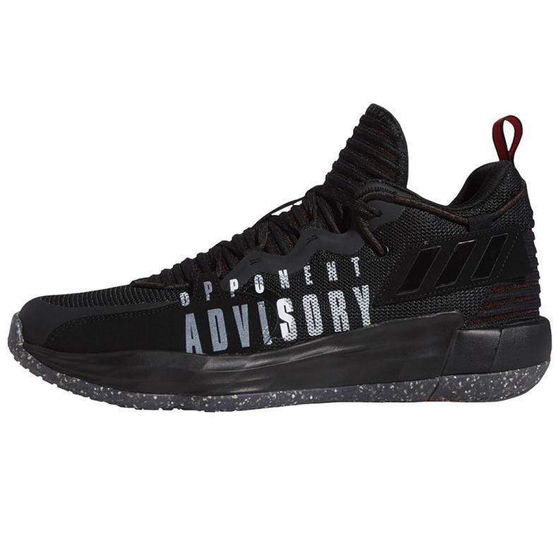 Buty do koszykówki adidas Dame 7 Extply M FY9939 czarne czarne