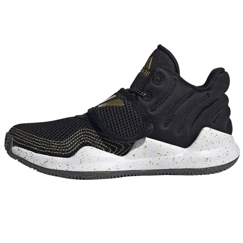 Buty adidas Deep Threat Primeblue C Jr GZ0111 białe czarne