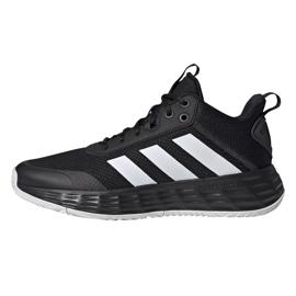 Buty do koszykówki adidas Ownthegame 2.0 M H00470 wielokolorowe czarne