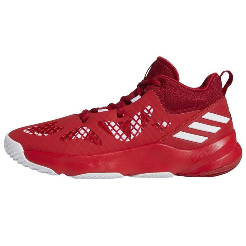 Buty do koszykówki adidas Pro N3XT 2021 M G58890 wielokolorowe czerwone