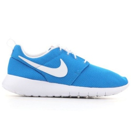 Buty Nike Roshe One (GS) Jr 599728-422 czarne niebieskie