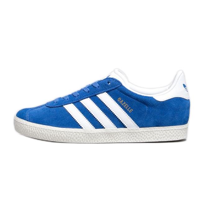 Buty adidas Gazelle J Jr BB2501 białe niebieskie