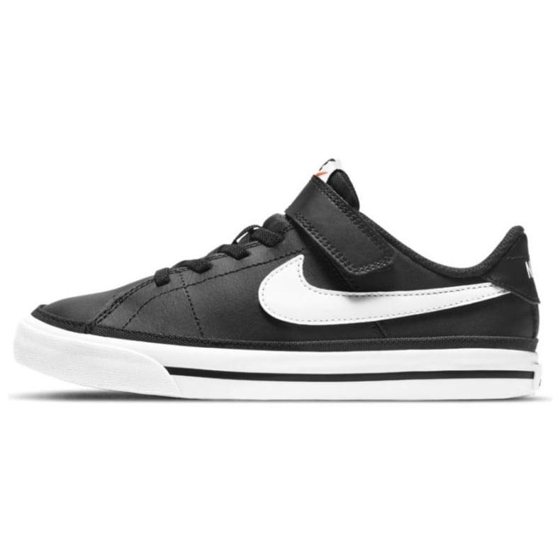 Buty Nike Court Legacy Shoe Jr DA5381 002 czarne granatowe