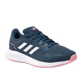Buty adidas Funfaclon 2.0 K GZ7419 czerwone granatowe