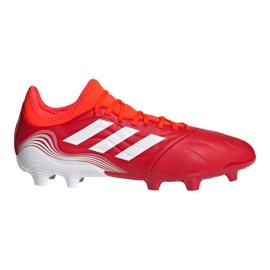 Buty piłkarskie adidas Copa Sense.3 Fg M FY6196 wielokolorowe czerwone