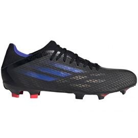 Buty piłkarskie adidas X Speedflow.3 Fg M FY3296 czarne czarne