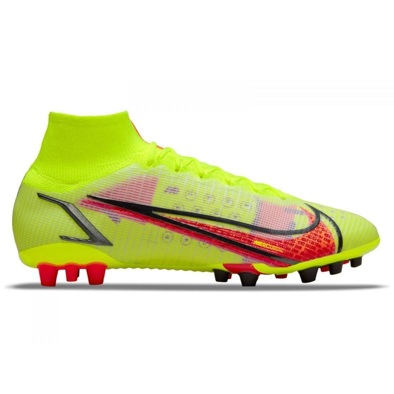 Buty piłkarskie Nike Superfly 8 Elite Ag M CV0956-760 zielone zielone
