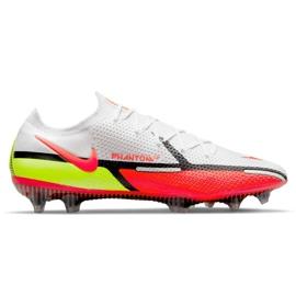 Buty piłkarskie Nike Phantom GT2 Elite Fg M CZ9890-167 białe wielokolorowe