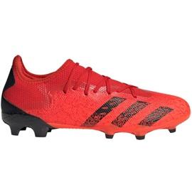 Buty piłkarskie adidas Predator Freak.3 L Fg M FY6289 wielokolorowe czerwone