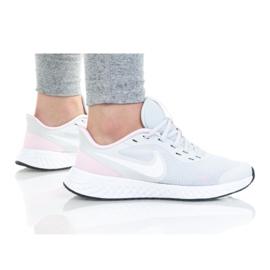 Buty Nike Revolution 5 (GS) Jr BQ5671-021 białe czarne