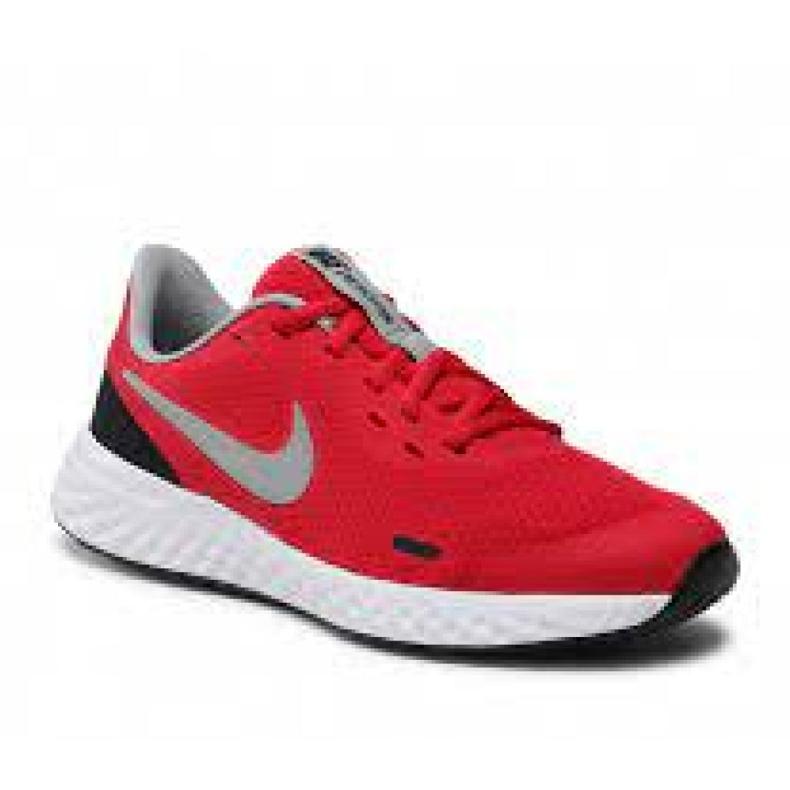 Buty Nike Revolution 5 (GS) Jr BQ5671-603 czarne czerwone