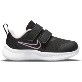 Buty Nike Star Runner 3 (TDV) Jr DA2778-002 czarne zielone