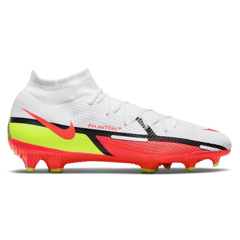 Buty piłkarskie Nike Phantom GT2 Pro Df Fg M DC0759-167 białe wielokolorowe