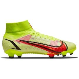 Buty piłkarskie Nike Superfly 8 Pro Fg M CV0961-760 zielone zielone