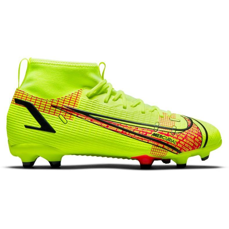 Buty piłkarskie Nike Superfly 8 Academy Mg Jr CV1127-760 zielone zielone