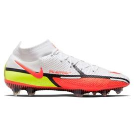 Buty piłkarskie Nike Phantom GT2 Elite Df Fg M CZ9889-167 białe wielokolorowe