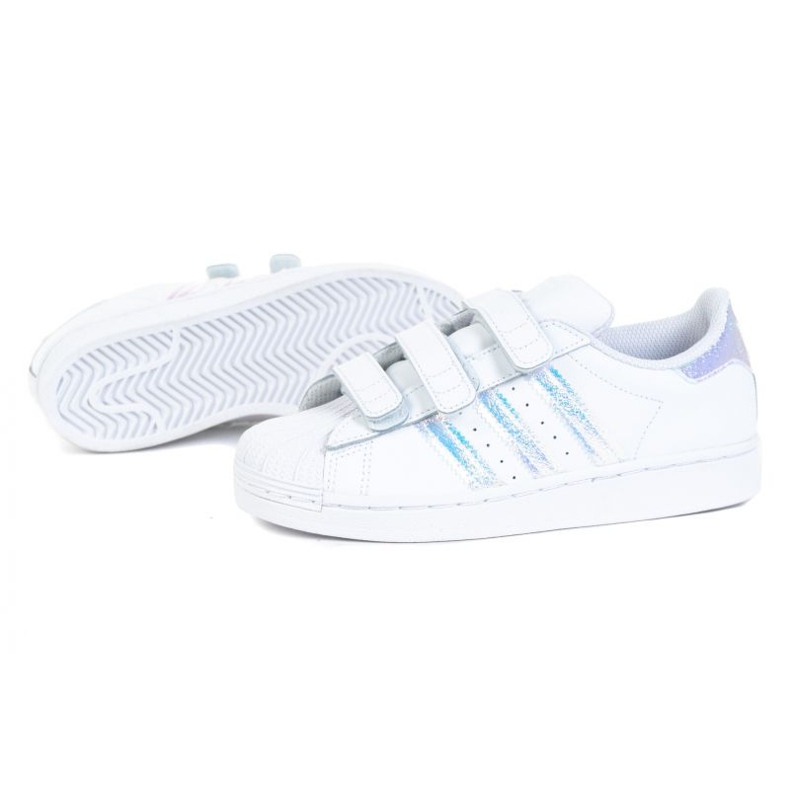 Buty adidas Superstar Cf C FV3655 białe czarne