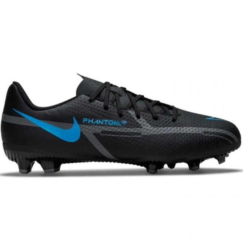 Buty piłkarskie Nike Phantom GT2 Academy FG/MG Jr DC0812-004 wielokolorowe czarne