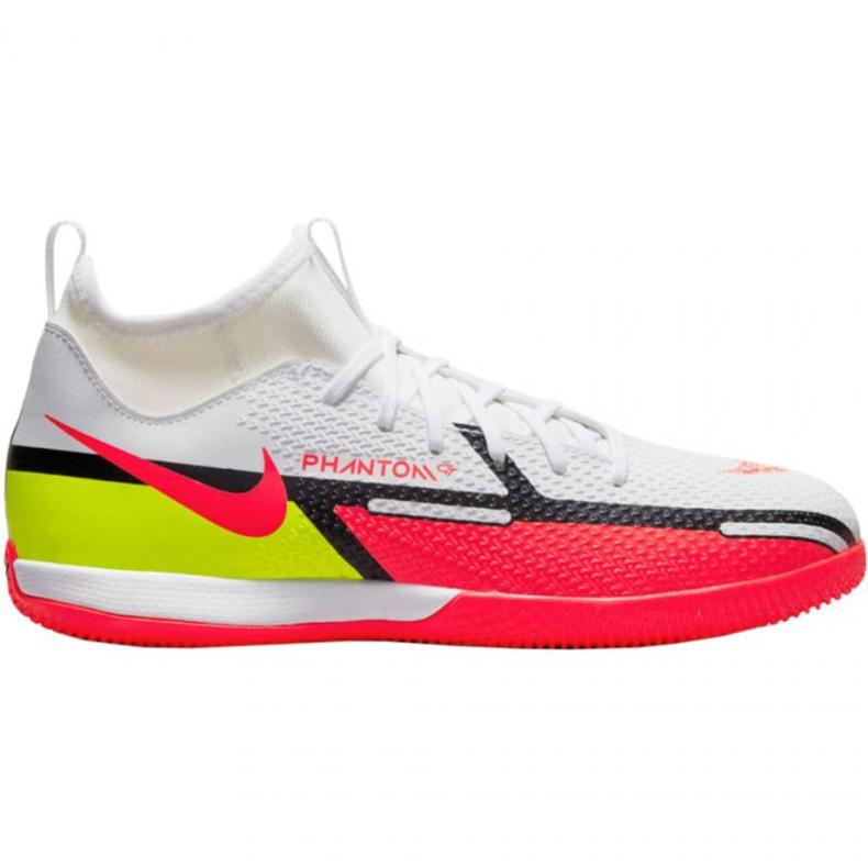 Buty halowe Nike Phantom GT2 Academy Df Ic Jr DC0815-167 białe białe