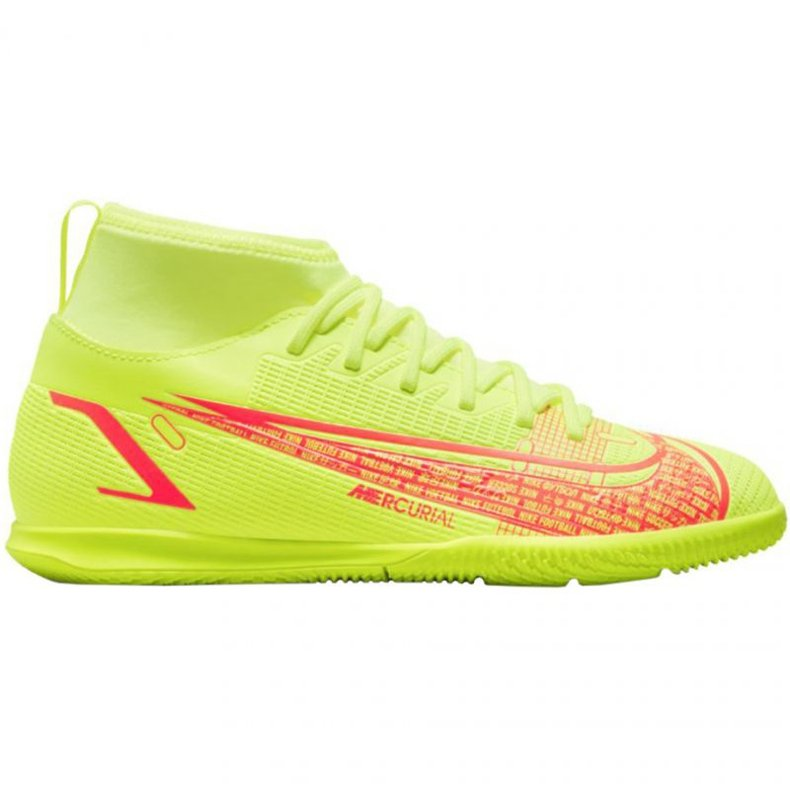 Buty halowe Nike Mercurial Superfly 8 Club Ic Jr CV0792-760 żółte żółte
