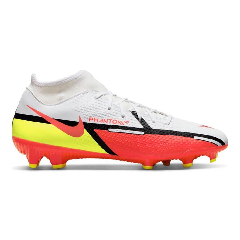 Buty piłkarskie Nike Phantom GT2 Academy Dynamic Fit FG/MG M DC0797-167 białe wielokolorowe