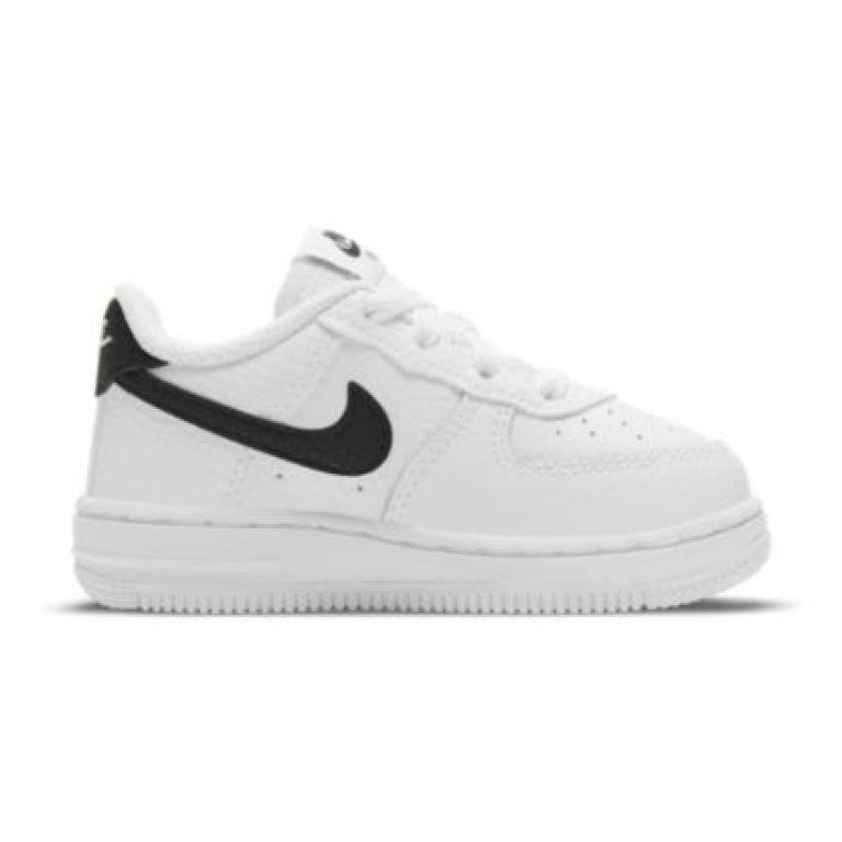 Buty Nike Force 1 Inf Jr CZ1691-100 białe czarne