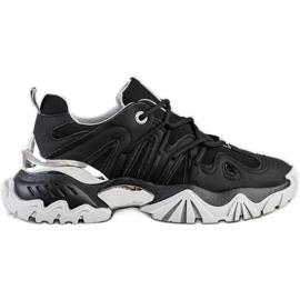 Sneakersy Damskie Big Star II274089906 czarne