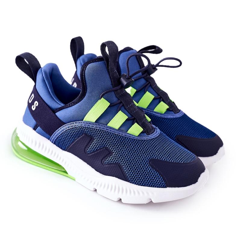 Dziecięce Sportowe Buty Sneakersy ABCKIDS Niebieskie