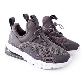 Dziecięce Sportowe Buty Sneakersy ABCKIDS Szare