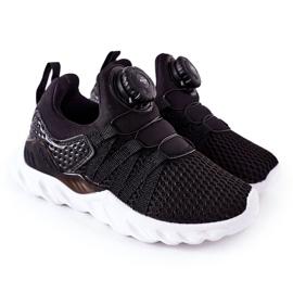 Dziecięce Sportowe Buty Z Pokrętłem ABCKIDS Czarne