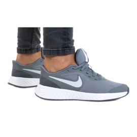 Buty Nike Rebolution 5 (GS) W BQ5671-004 szare