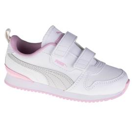 Buty Puma R78 Sl V Infants Jr 374430-04 białe
