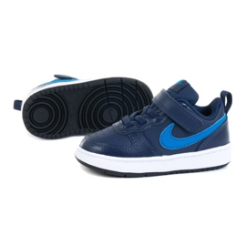 Buty Nike Court Borough Low 2 (TDV) M BQ5453-403 fioletowe granatowe