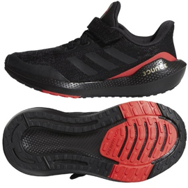 Buty do biegania adidas EQ21 Run El K Jr GZ5399 czarne