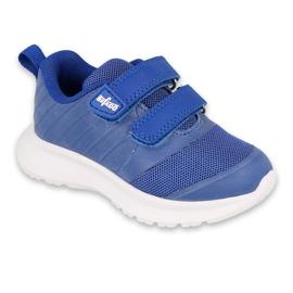 Befado obuwie dziecięce  516P088 niebieskie