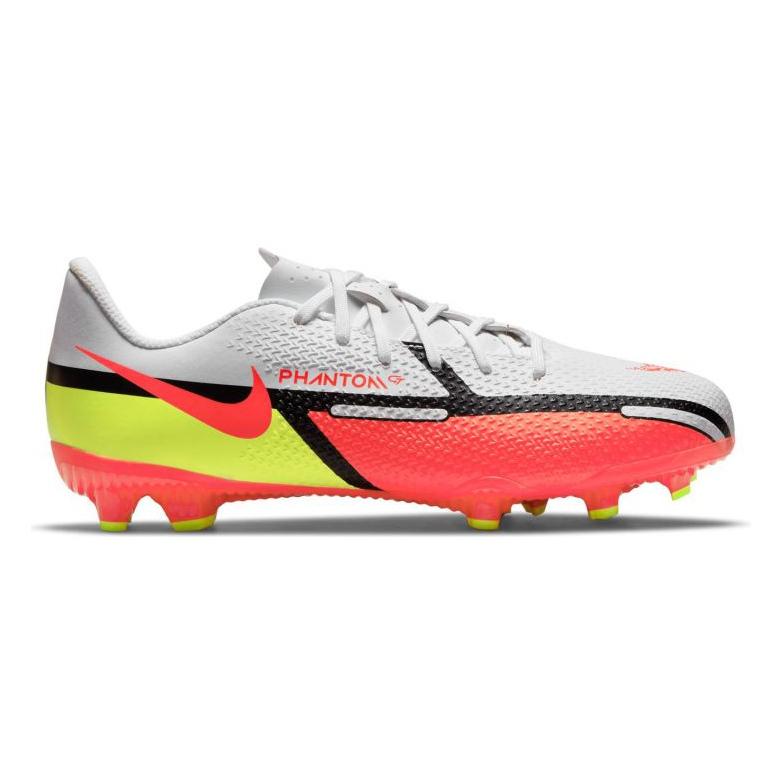 Buty piłkarskie Nike Phantom GT2 Academy FG/MG Jr DC0812-167 wielokolorowe białe