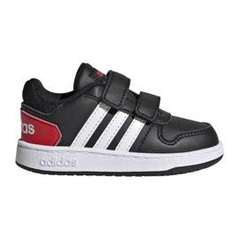 Buty adidas Hoops 2.0 Cmf I Jr FY9444 czarne