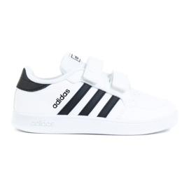 Buty adidas Breaknet I Jr FZ0090 białe