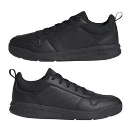 Buty adidas Tensaur K S24032 czarne granatowe