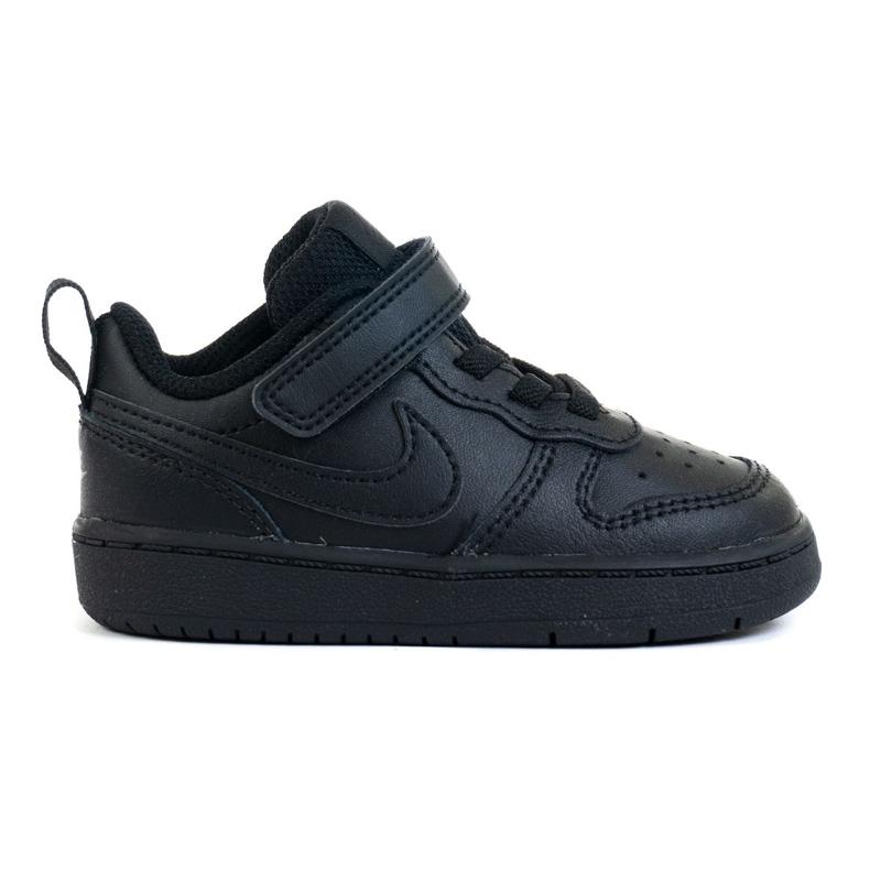 Buty Nike Court Borough Low 2 (TDV) Jr BQ5453-001 czarne
