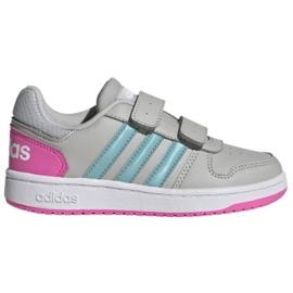 Buty adidas Hoops 2.0 Cmf C Jr H01550 czarne