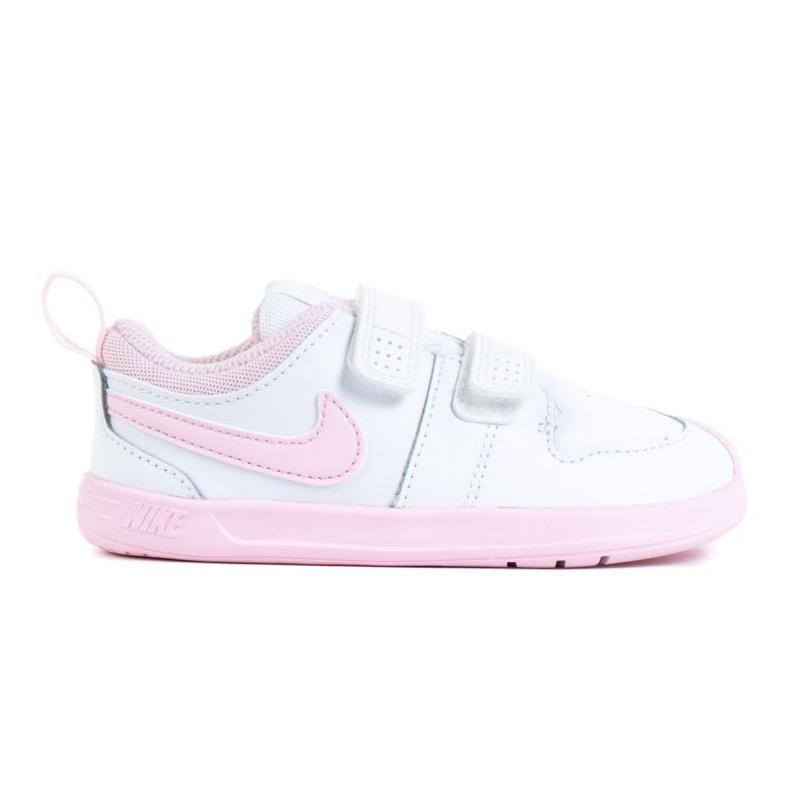 Buty Nike Pico 5 (TDV) Jr AR4162-105 białe różowe