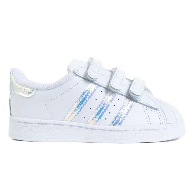 Buty adidas Superstar Cf I Jr FV3657 białe