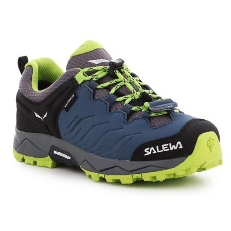Buty trekkingowe Salewa Jr Mtn Trainer 64008-0361 granatowe