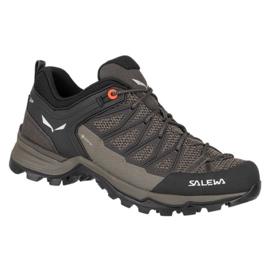 Buty trekkingowe Salewa Mtn Trainer Lite Gtx W 61362-7517 brązowe