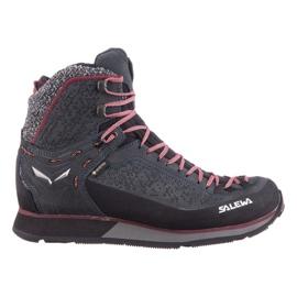 Buty trekkingowe zimowe Salewa Ws Mtn Trainer 2 Winter Gtx W 61373-0988 granatowe