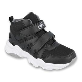 Befado obuwie dziecięce  516X052 białe czarne