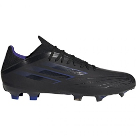 Buty piłkarskie adidas X Speedflow.2 Fg M FY3288 czarne czarny, czarny, fioletowy